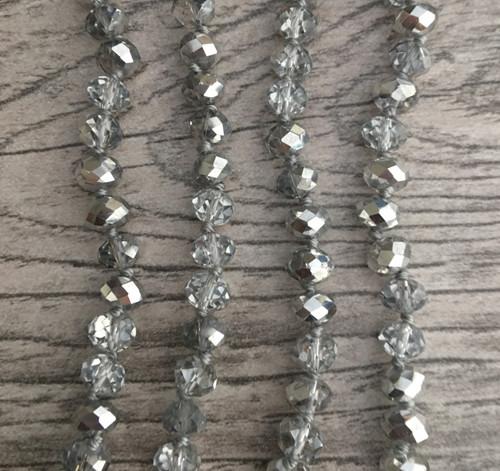 Layering Beads - Tinsel Silver