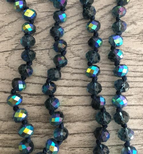 Layering Beads - Midnight Blue