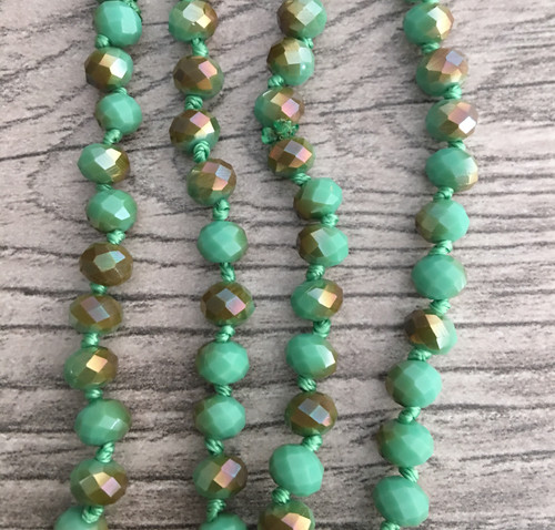 Layering Beads - Shimmer Turquoise