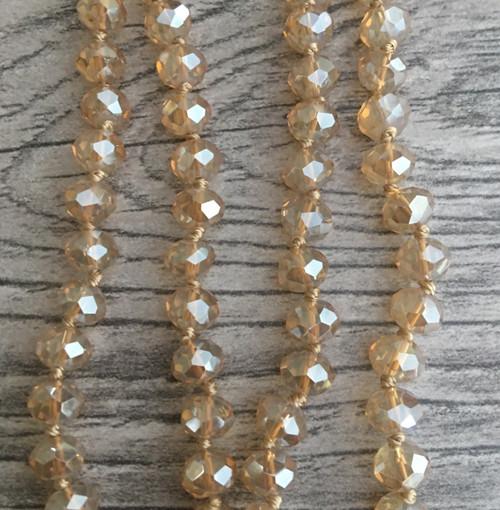 Layering Beads - Soft Amber
