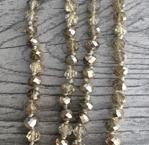Layering Beads - Shimmering Hollywood Gold
