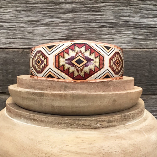 Southwest Design Copper Bracelet
