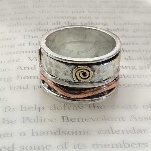 Sterling Silver Cigar Ring