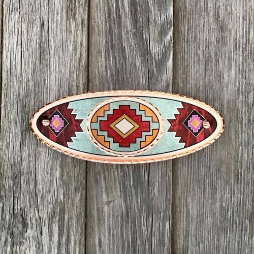 Three Design Copper Barrette
