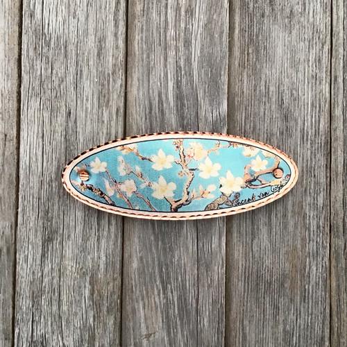 Van Gosh Almond Blossom Copper Barrette
