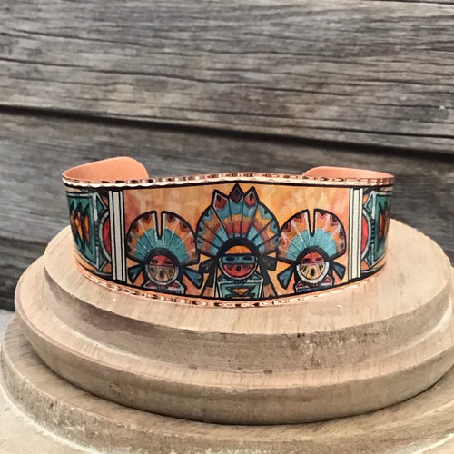 Kachina Copper Bracelet
