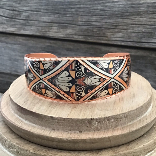Native Design Copper Bracelet