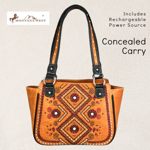 American Bling Phone Charging & Concealed Carry Tote