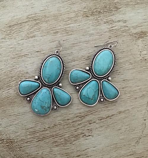 Natural Stone Naja Earrings