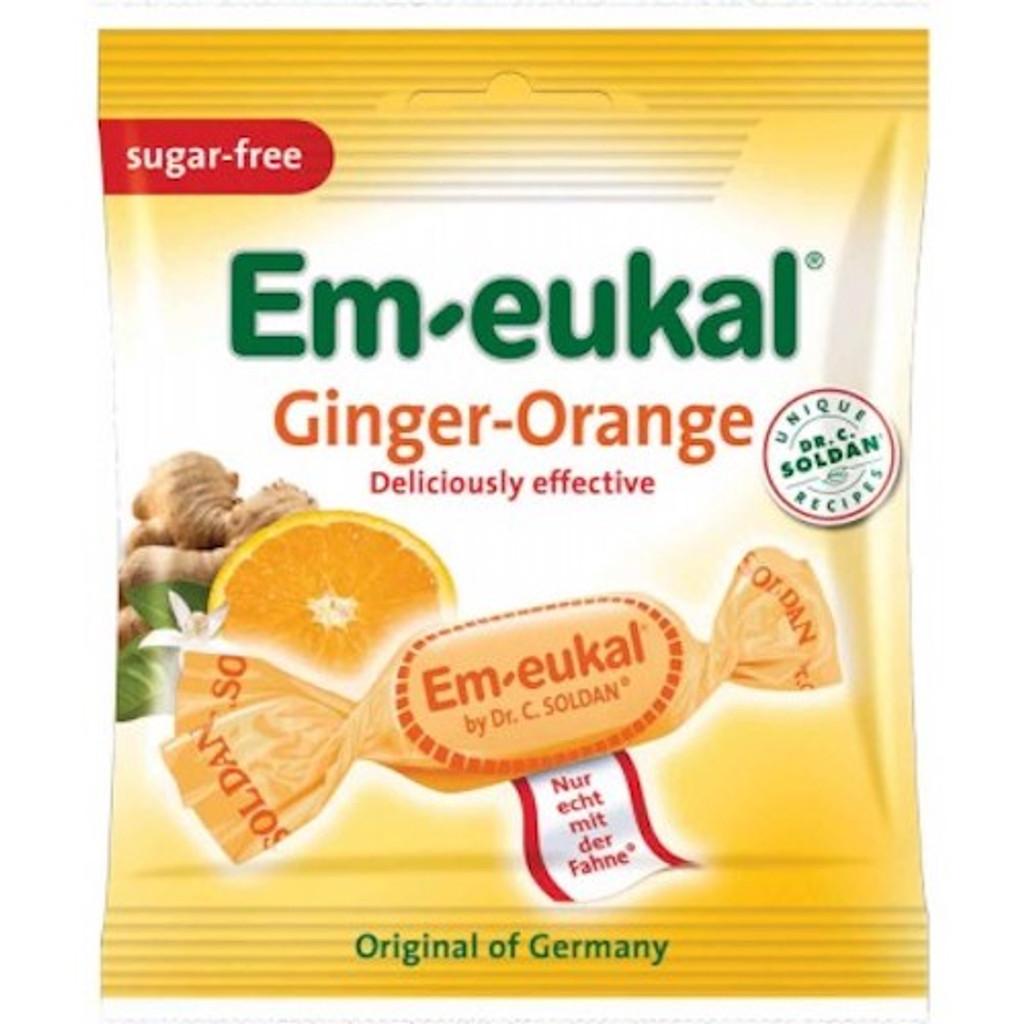 D. Soldan Sugar Free Ginger Orange Lozenges in Bag 1.8 oz