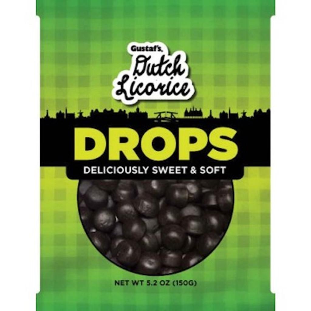 Gustafs Licorice Drops 5.2 oz