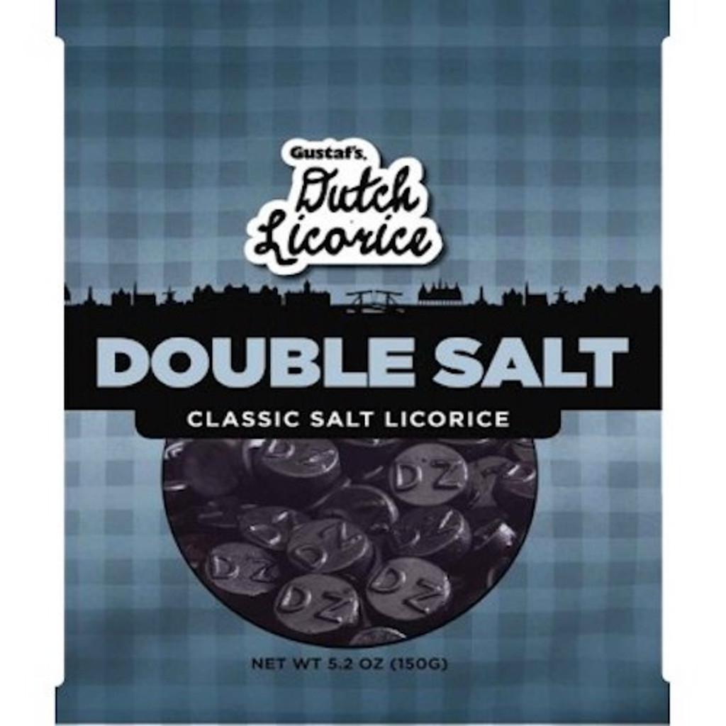 Gustafs Double Salt Licorice 5.2 oz