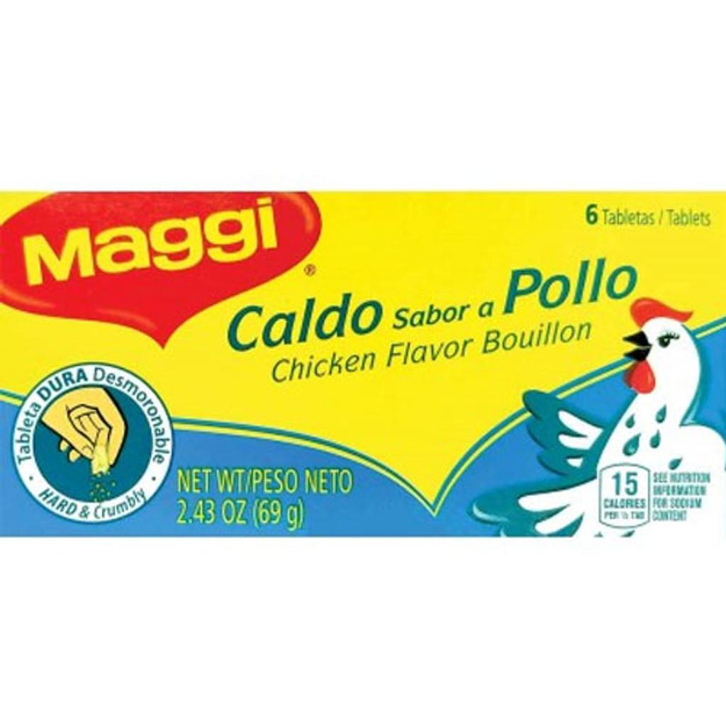 Maggi Chicken Bouillon Tabs 6 ct.