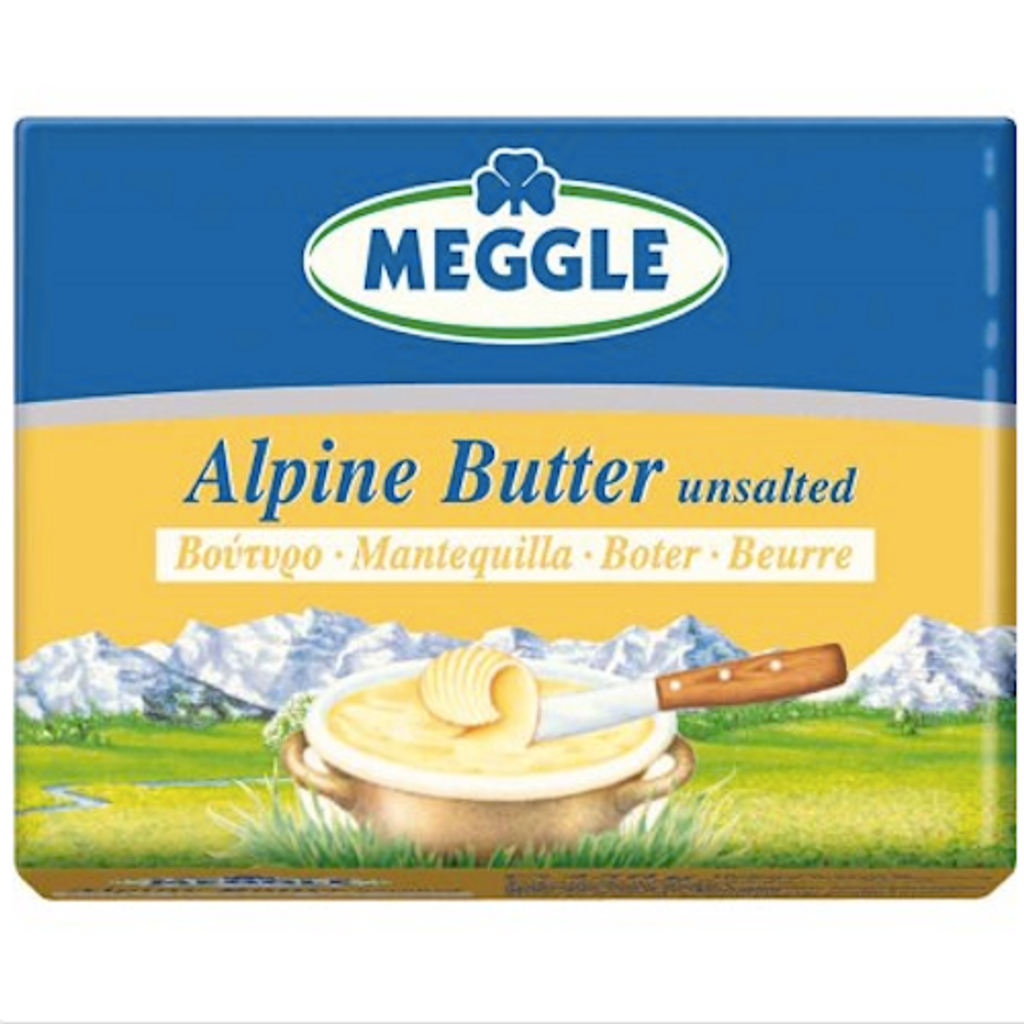 Meggle Original Bavarian Alpine Butter Unsalted