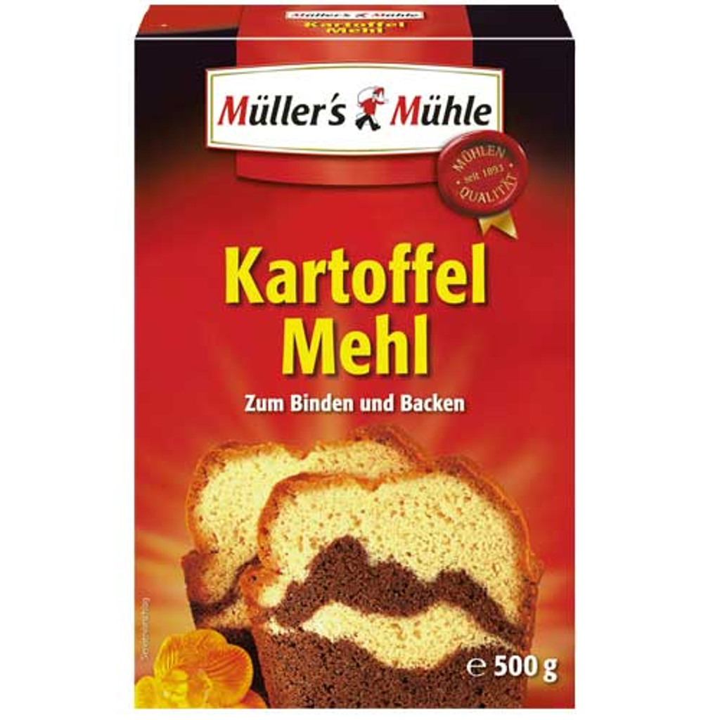 Mueller Muehle German Potato Starch for Baking 17.6 oz GMO free