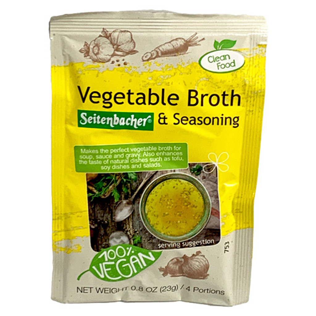 Seitenbacher Vegetable Broth and Seasoning in Pouch