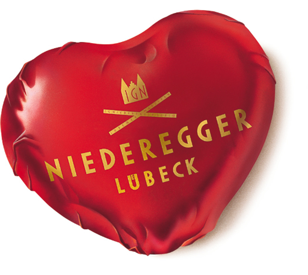 Almond Marzipan Heart from Germany