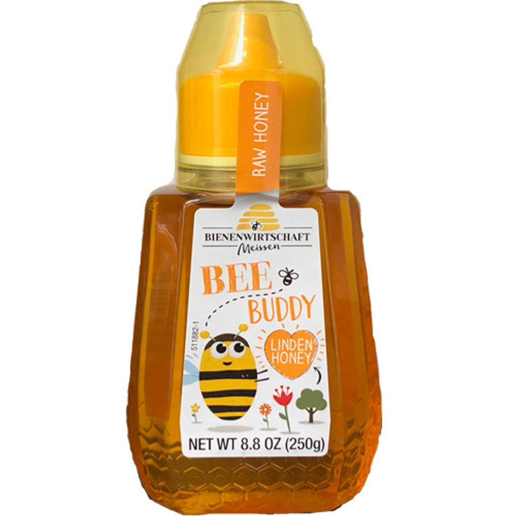Breitsamer Bee Buddy German Linden Blossom Honey 8.8 oz in squeeze bottle