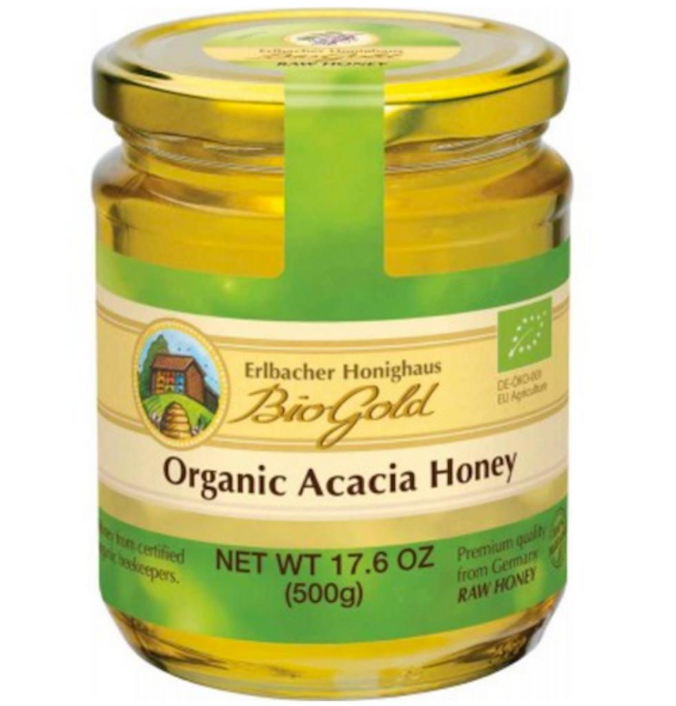 Erlbacher Bio Gold Organic Acacia Honey 17.6 oz