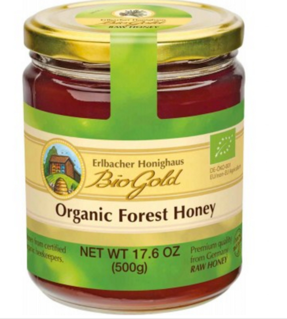 Erlbacher Bio Gold Organic Forest Tree Honey 17.6 oz