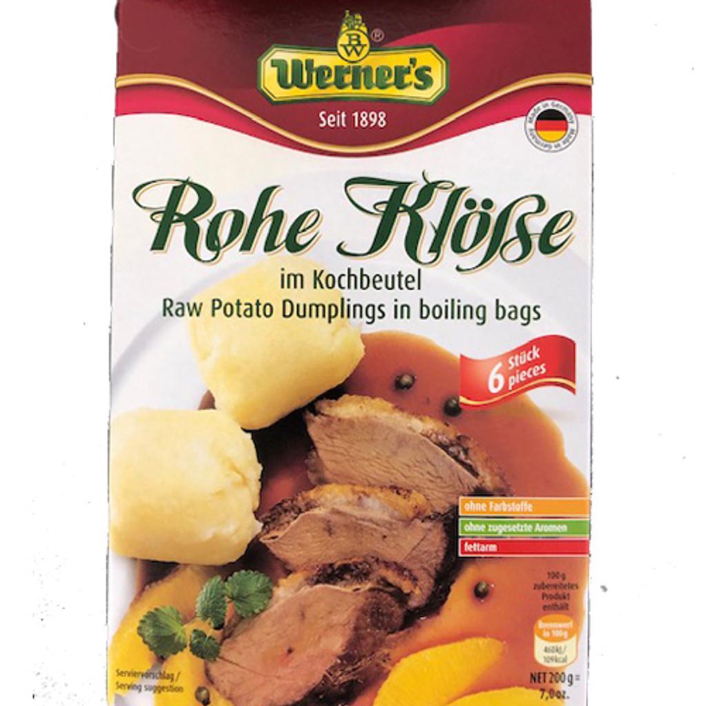 Werners Coarse Saxon Dumplings in Cooking Bag 7oz