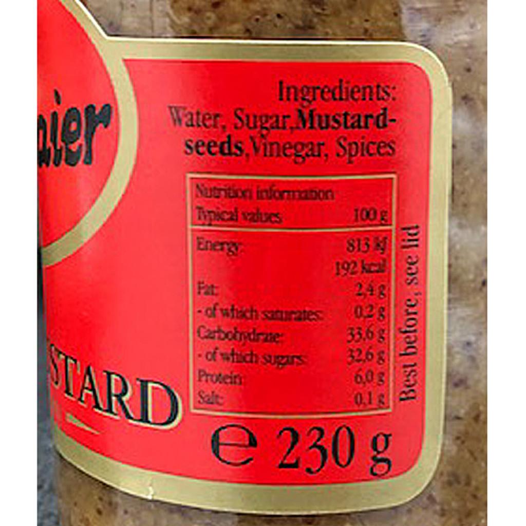 Haendelmeier Sweet Bavarian Mustard 8 oz.