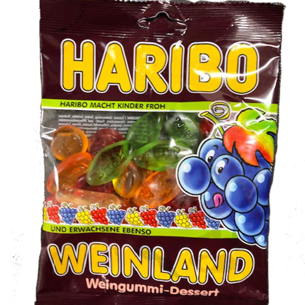 Haribo German Wine Gummies 7 oz.
