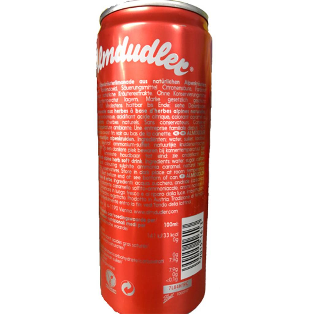 Almdudler Austrian Soft Drink with Alpine Herbs 11.2 fl oz