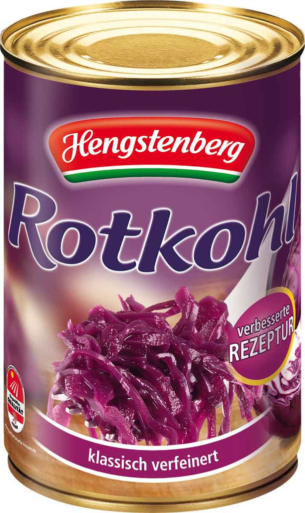 Hengstenberg Red Cabbage 9.3 lbs. Food Service Tin
