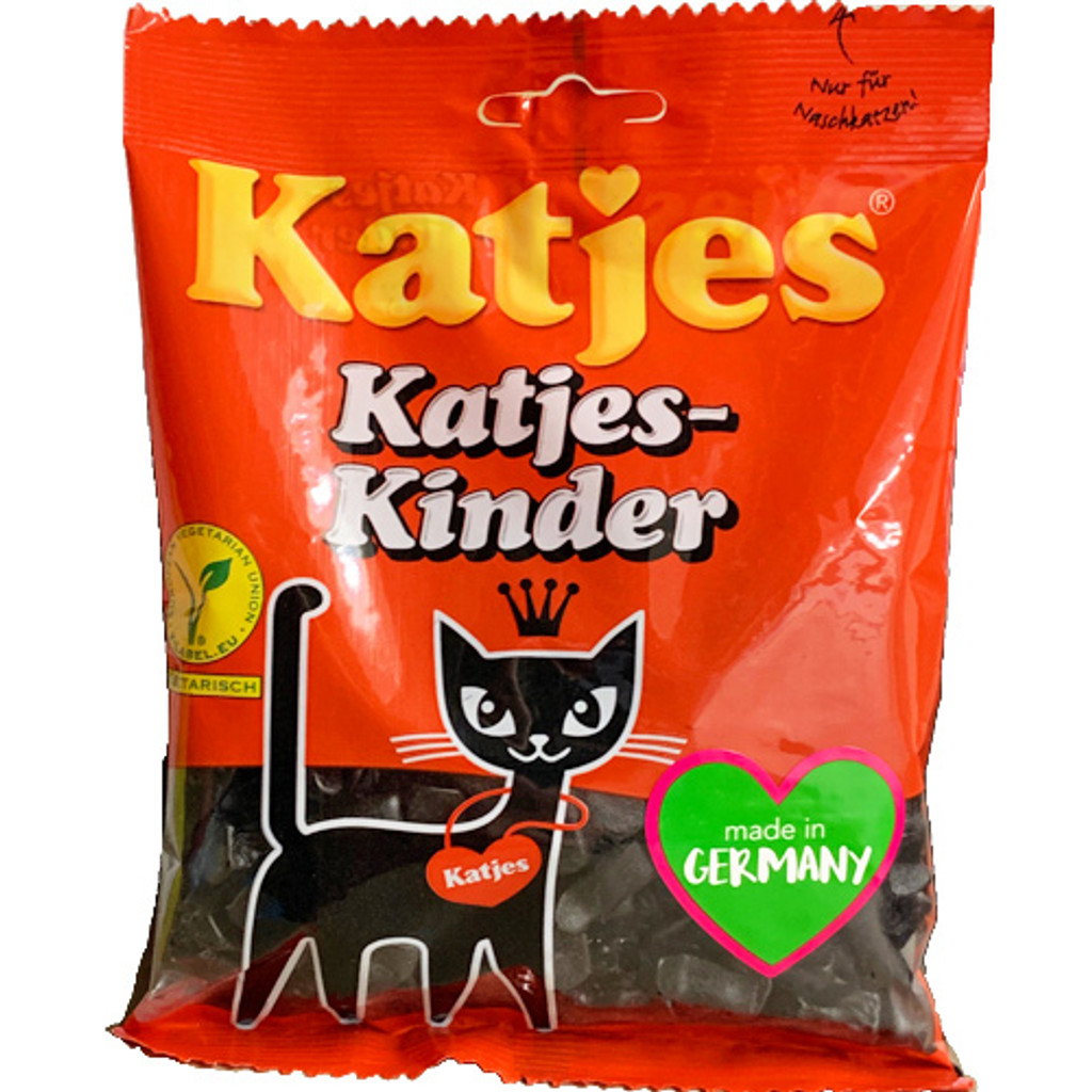 Katjes Sweet Licorice Cats 7.1 oz