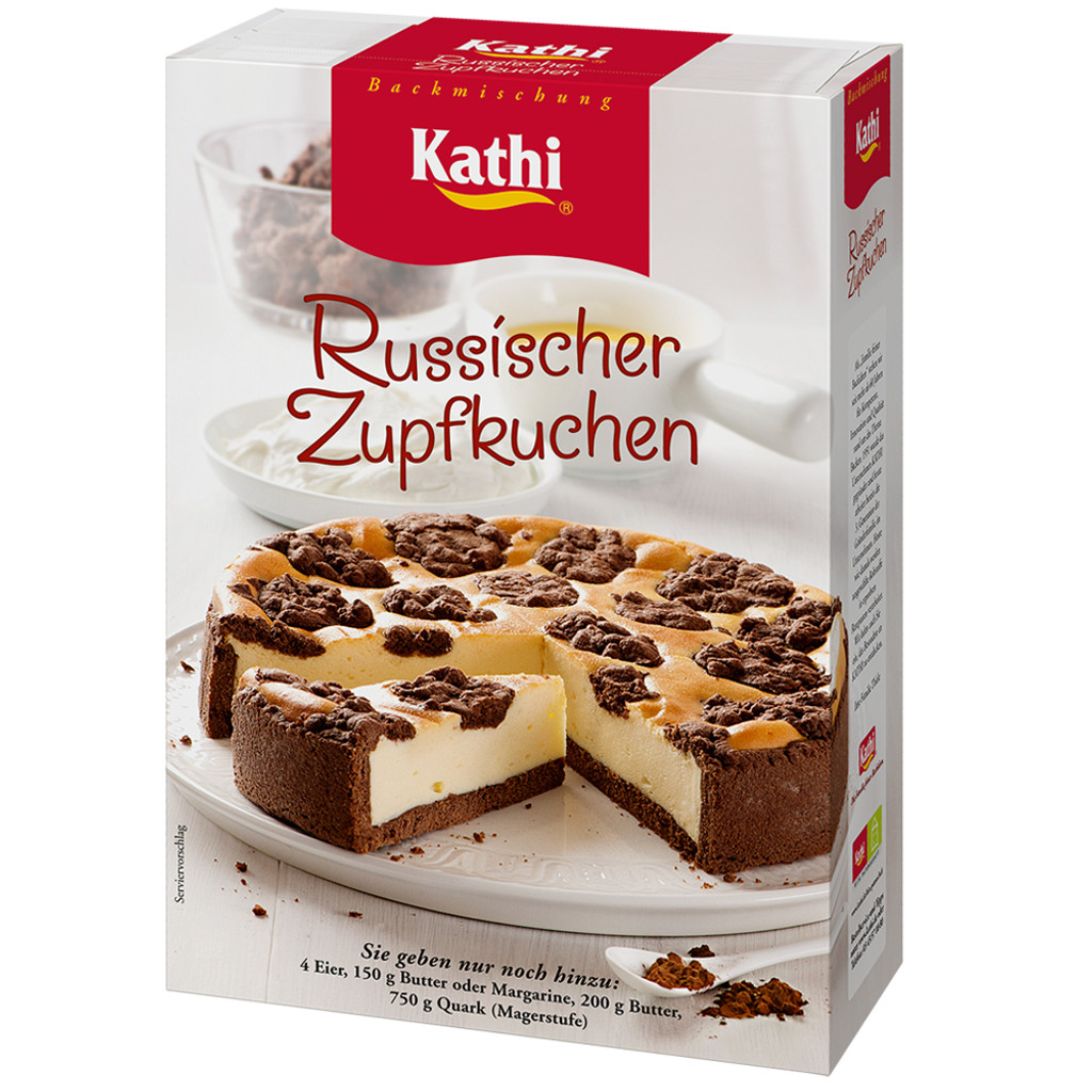 Kathi German Cheese Cake with Chocolate Crust Mix 21.5 oz