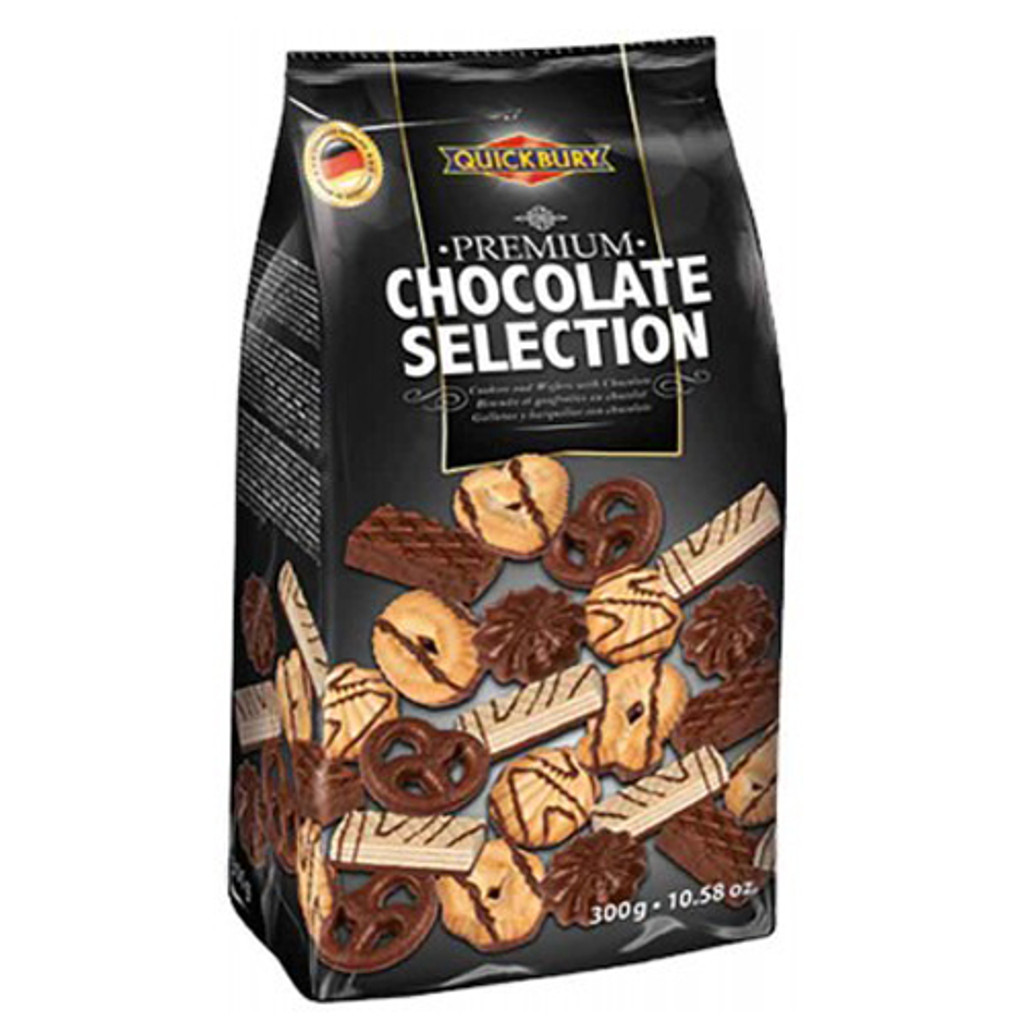 Quickbury German Chocolate Cookie Selection in Bag 10.6 oz