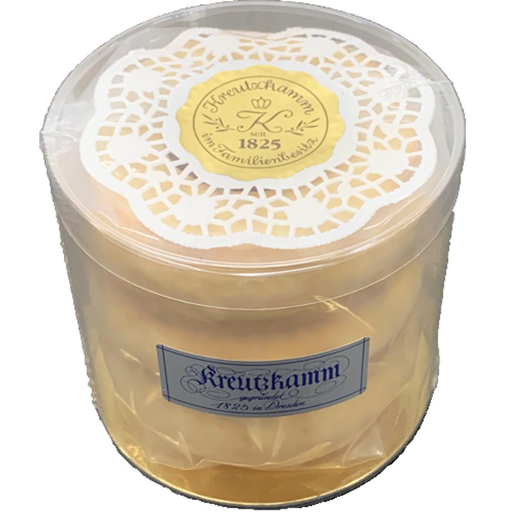 Kreutzkamm Dresdener Baumkuchen in  White Chocolate Vanilla Glaze 10.6 oz