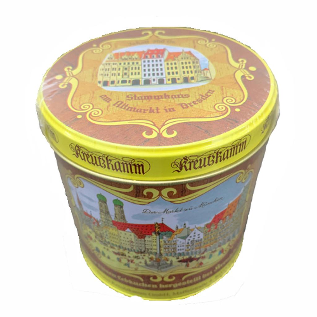 Kreutzkamm Gold Elisen Dresden Lebkuchen in historic tin min 25% nuts