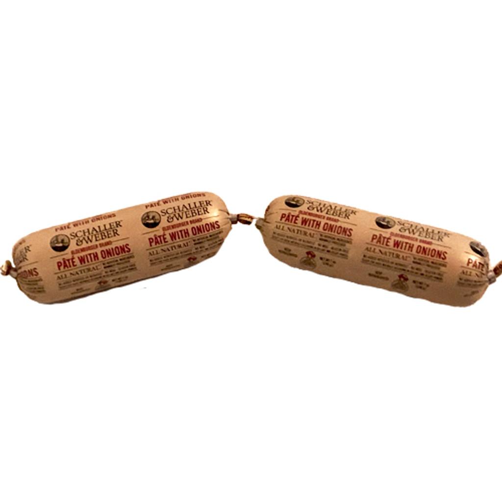 Schaller and Weber Oldenburger Liver Pate 7 oz.- 2 pack