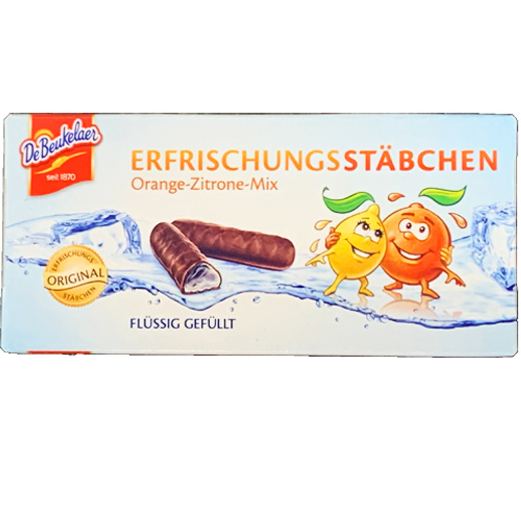 De Beukelaer Chocolate Citrus Refreshment Sticks