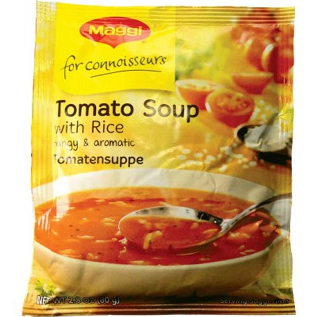 Maggi Tomato and Rice Soup