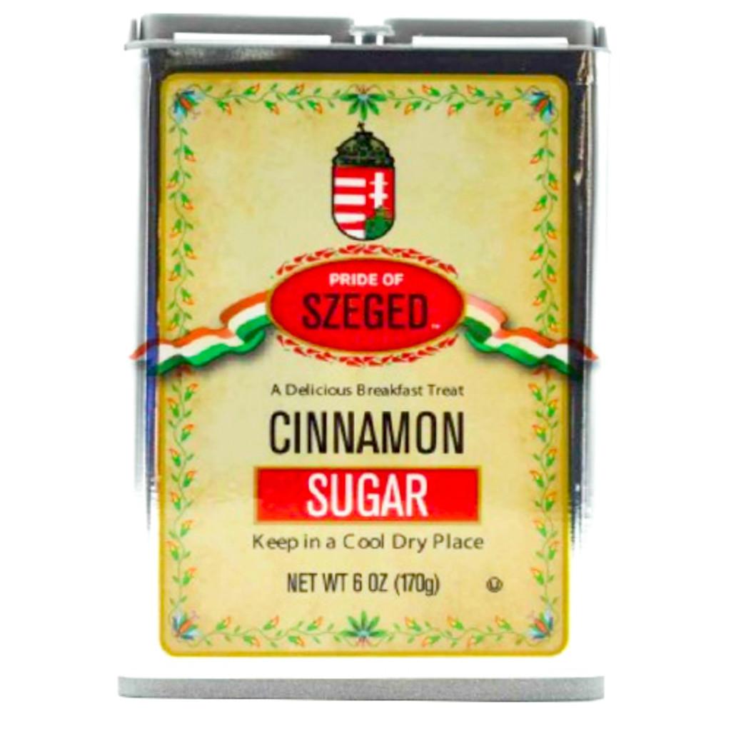 Szeged Hungarian Cinnamon Sugar in Tin 4 oz