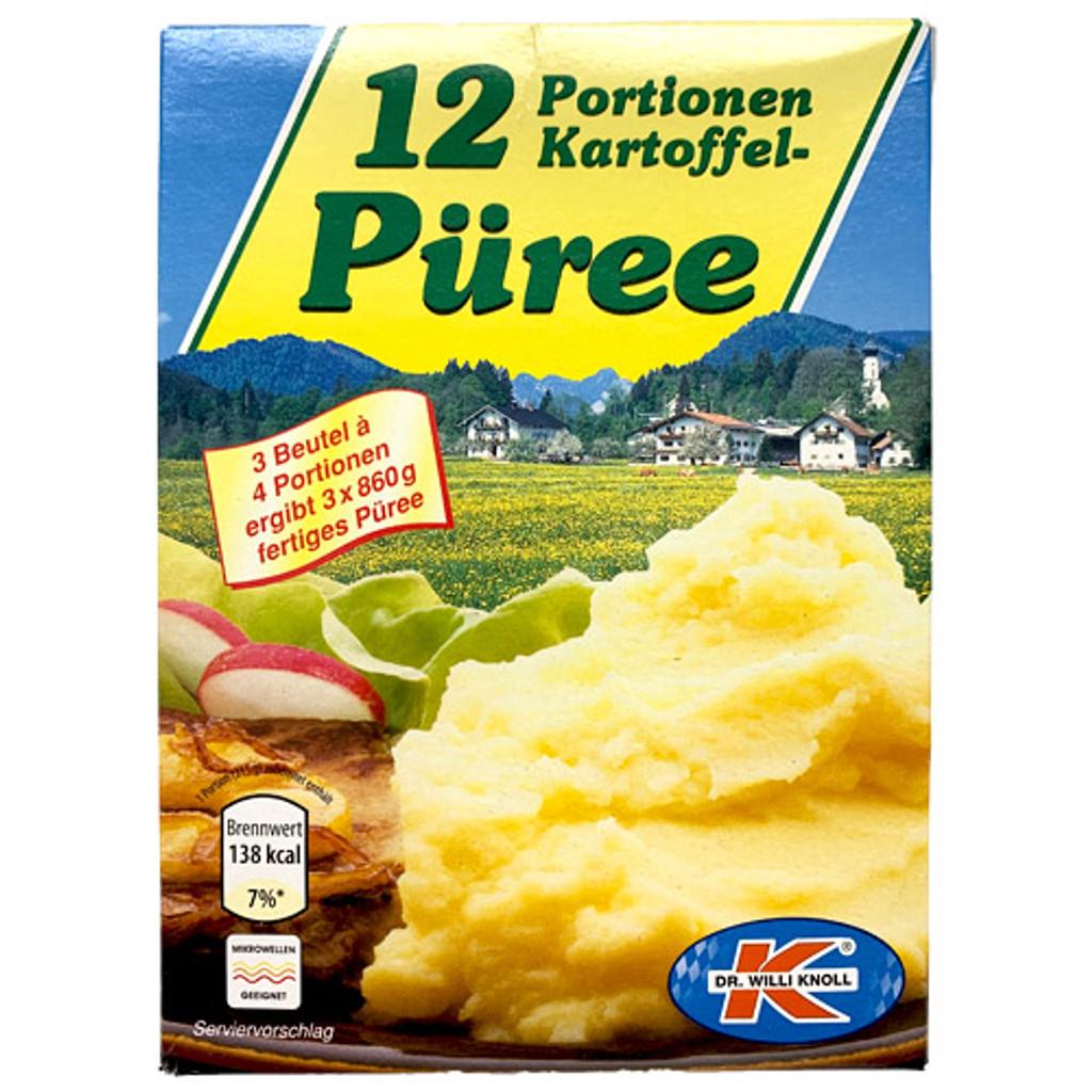 Dr. Knoll Mashed Potato Mix 12 Portions 12.2 oz.