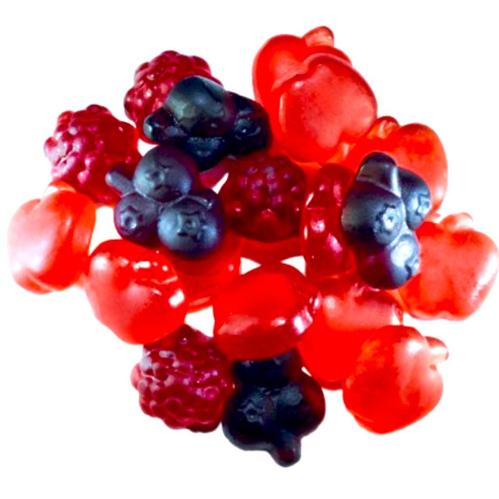 Luehders Red Berry Gummies,  Vegan 5.3 oz.