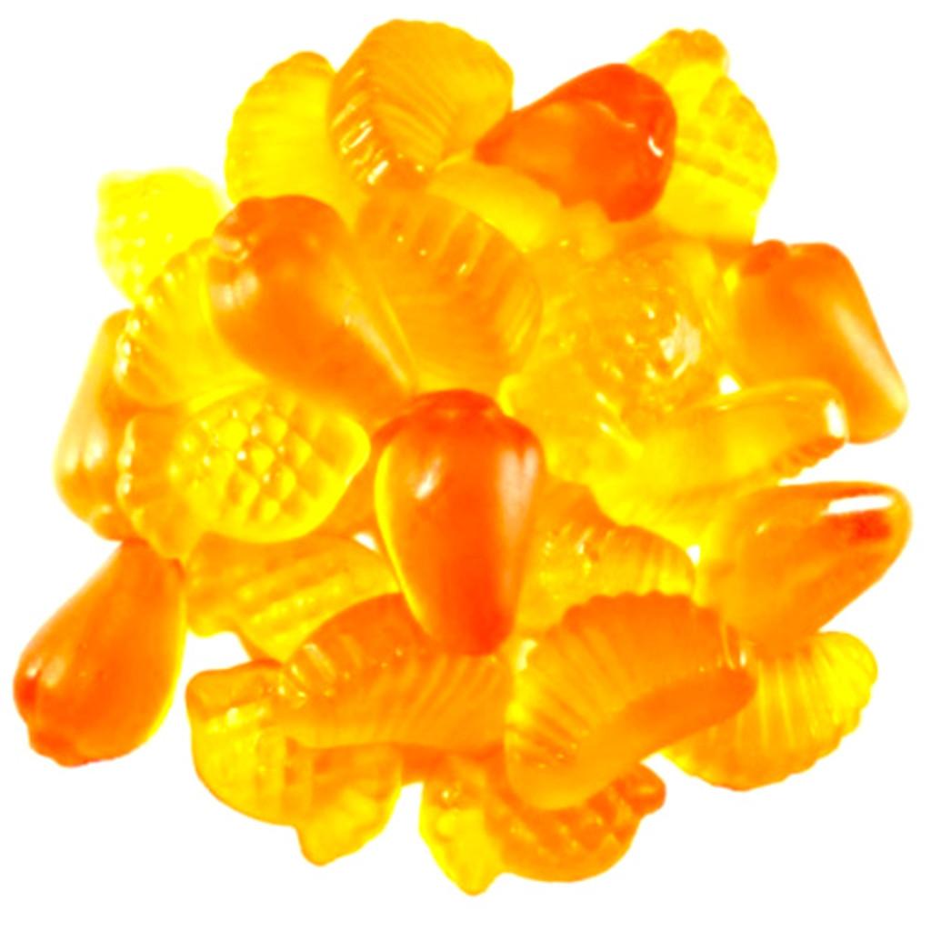Luehders Exotic Fruit Gummies,  Vegan 5.3 oz.