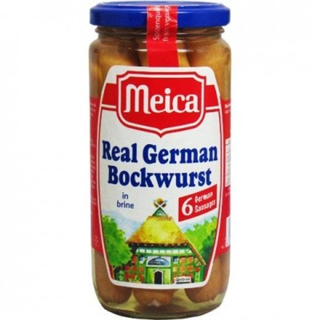Meica Large Real German Bockwurst Sausage
