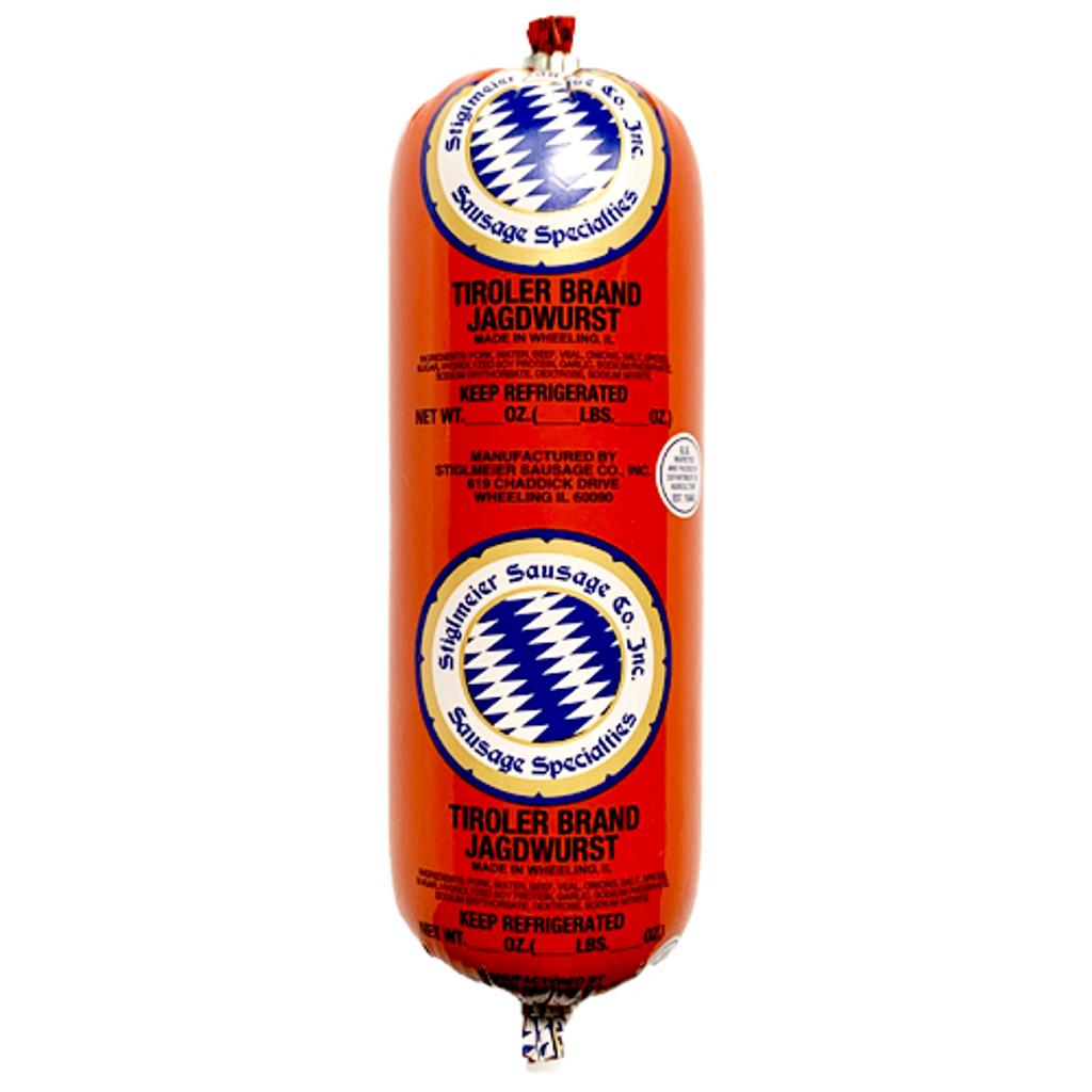 Stiglmeier Austrian-style Jagdwurst (Hunter Sausage), 1 lbs.,