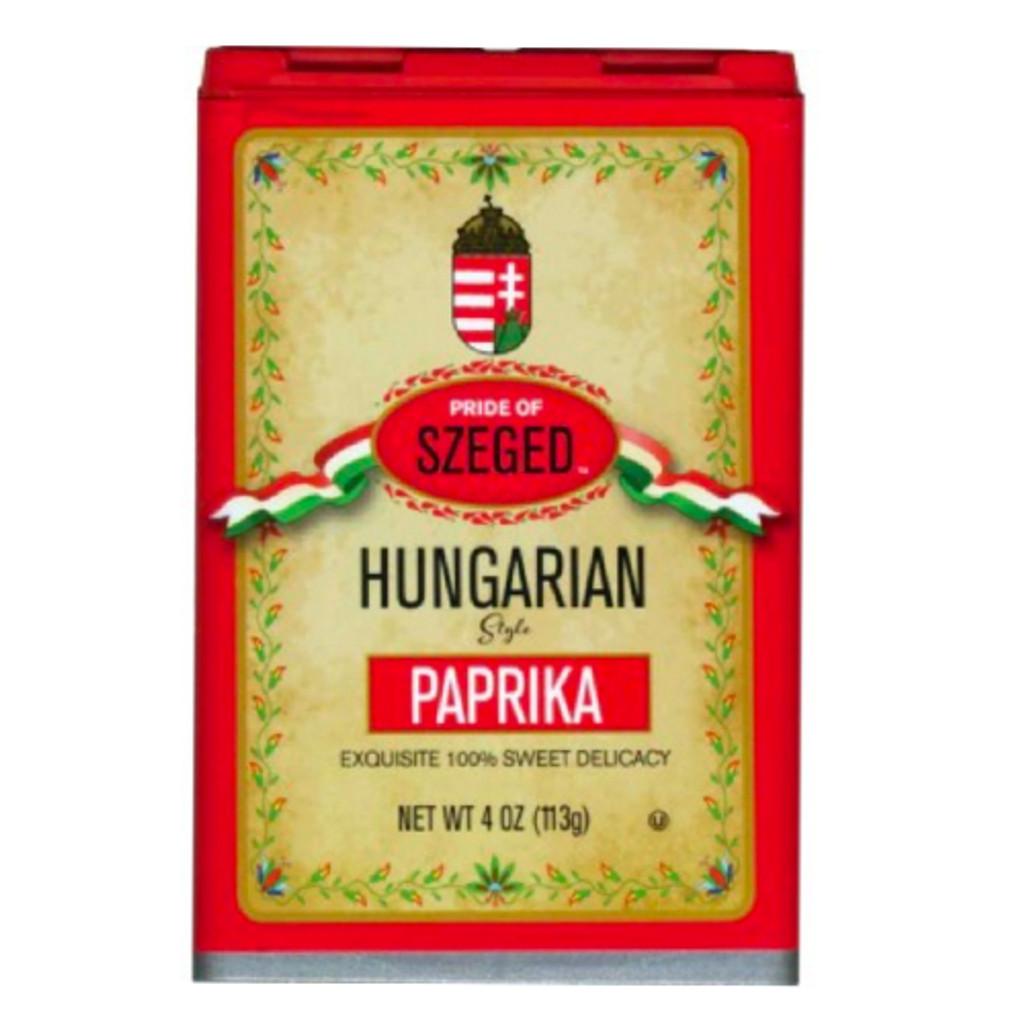 Szeged Hungarian Hot Paprika in Tin 4 oz