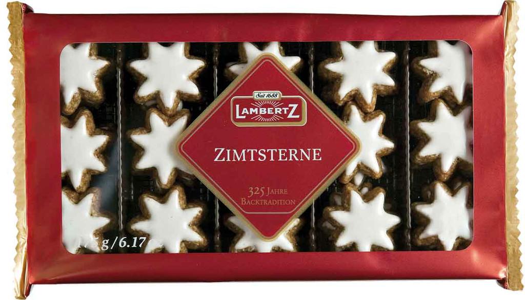 "Lambertz ""Zimtsterne"" Cinnamon Star Gingerbread Cookies"