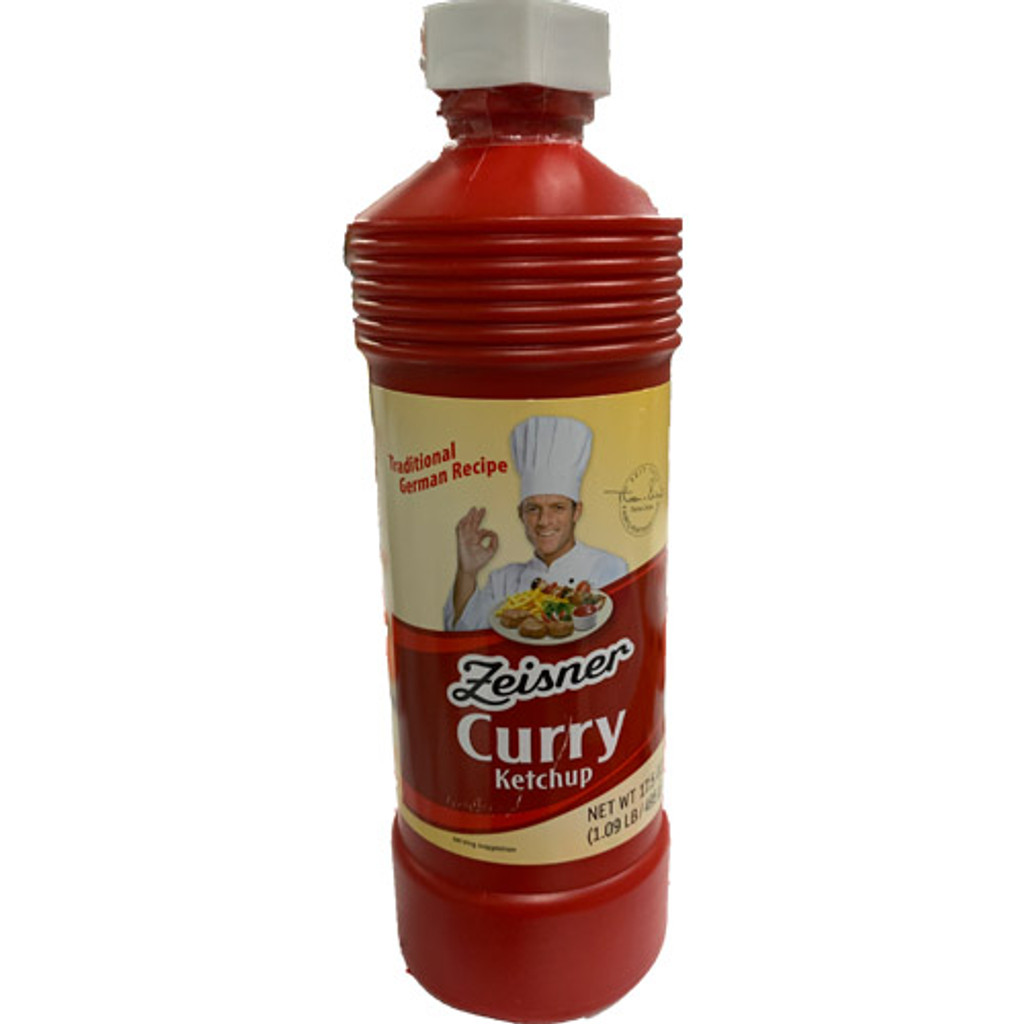 Zeisner Curry Ketchup 17.5 oz