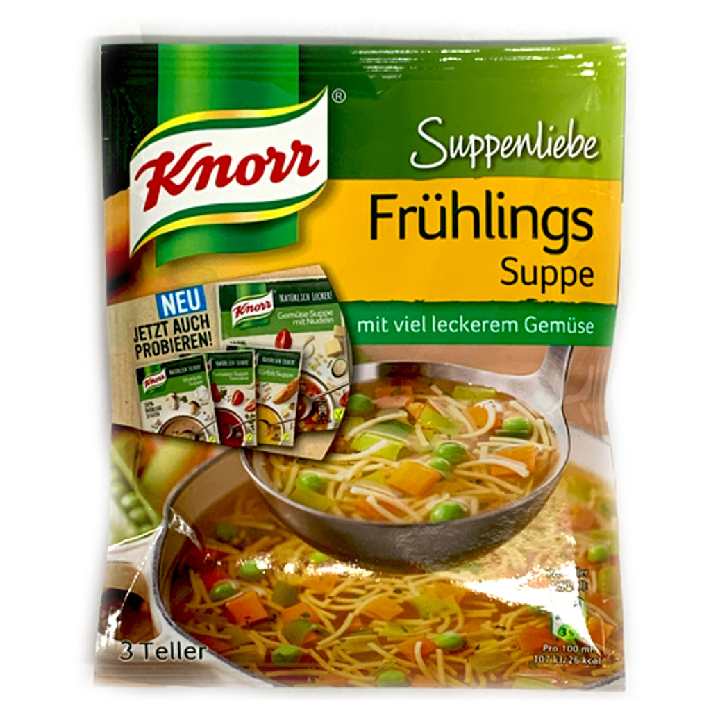 Knorr Spring Soup (Fruehlings Suppe) Mix