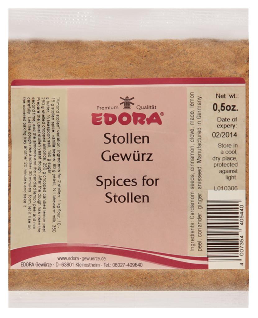 Edora Stollen Spices