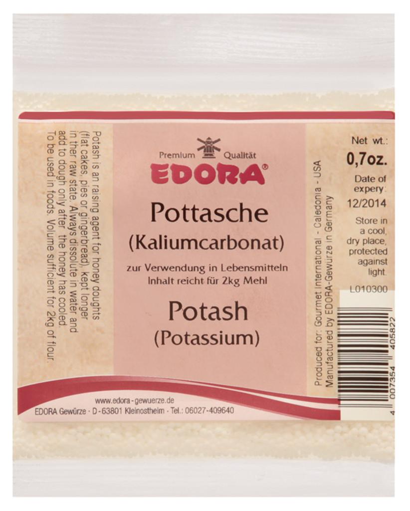 Edora Potash (Potassium Carbonate)