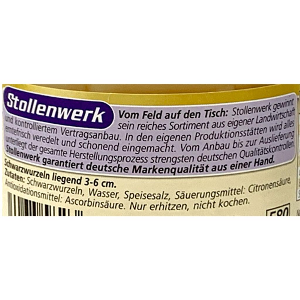 "Stollenberg ""Schwarzwurzeln"" Salsify in glass jar 24 oz."